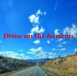 Drive on the horizon