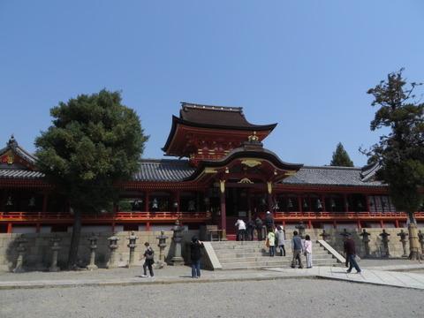 京都府八幡市/〝世は変われども神は変わらず〟やわたのはちまんさん「石清水八幡宮・上院」