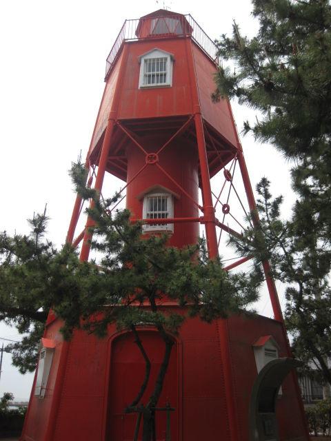 「福原京」縁の地~日本最古の鉄製灯台、今は須磨に『和田岬灯台』