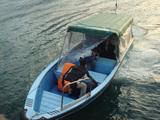 もぐりの渡し舟