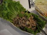 肉碎生菜包
