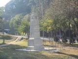 英国軍の石碑