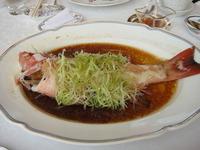 Steamed Fresh Garoupa