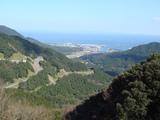 山からの景色