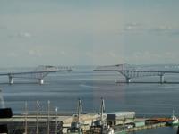 工事中の橋