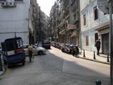 民政總署大樓 右側裏道