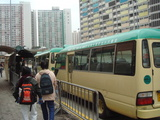 ミニバスのバス停