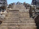 中央塔の急坂