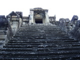 中央塔への階段