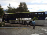 リアルジャーニー社観光バス