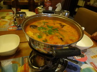 越色大頭蝦湯