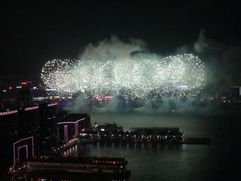 国慶節花火