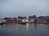 長洲島の夕暮れ
