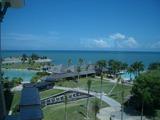 ホテルから見た海