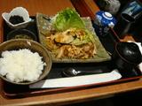 キムチ野菜炒定食