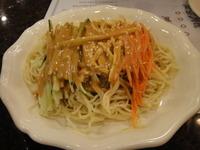三色鶏糸糸拌涼麺