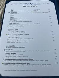 The Island View Restaurant