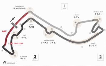 monaco-circuit-layout