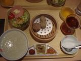 朝食中華セット
