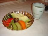 フルーツの盛り合せ