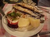 燒沙甸魚(Charcoal-grilled Sardines)