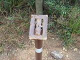 標距離柱は破損
