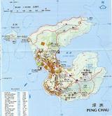 坪洲島地図