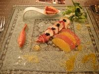 ブルターニュ産オマール海老とキャビア