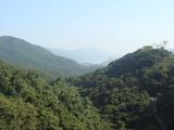 ダムからの景色