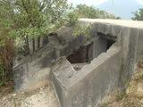 255高地の砲撃監視所