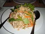 Banana Flower Salad with Pork