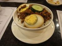 台南肉躁蛋飯