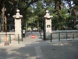白鴿巣公園(カモンエス公園)入口