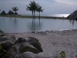 砂浜プール