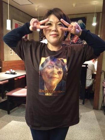 ダイ穴女史Tシャツ