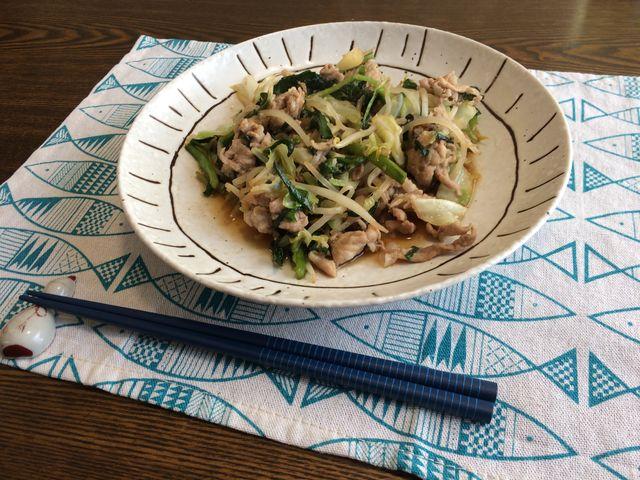 焼肉 の タレ 野菜 炒め