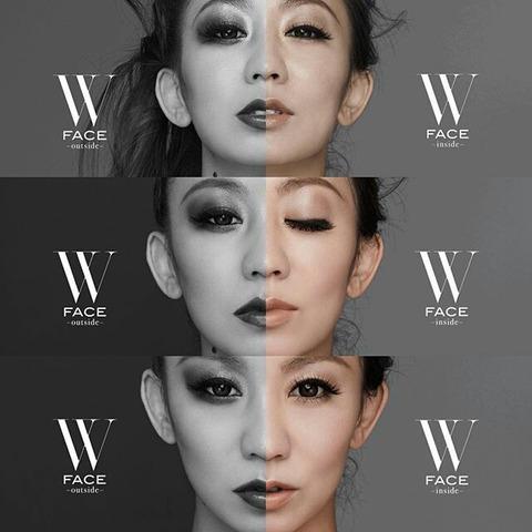倖田來未 W FACE オリコン 売上 3月22日まで
