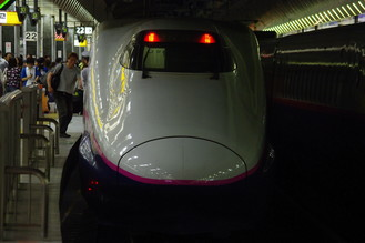 東京駅から新幹線乗車より上野 ...