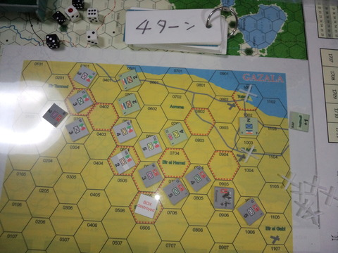 (TBG)GAZALA/4〜5ターン: