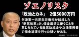 舛添要一「政治とカネ」2億5000万円