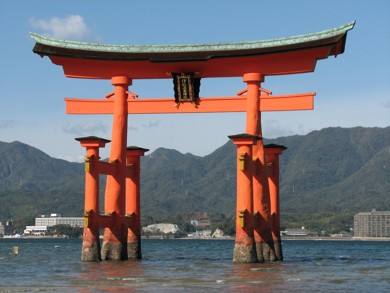 厳島 神社 鳥居