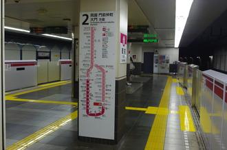 大江戸線 蔵前駅