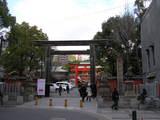 生田神社出入口