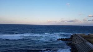 20191117佐渡島宿からの海風景