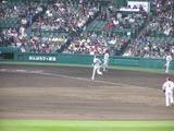 岡田ソロホームラン