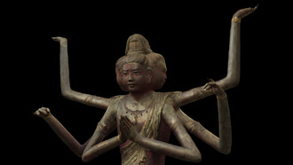 国宝 阿修羅像 九州国立博物館2