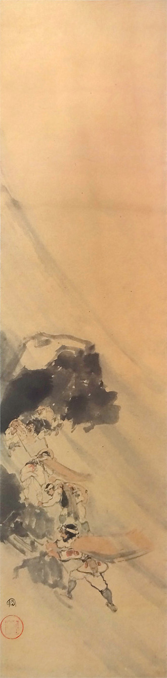 吉田博 登山図
