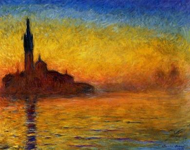 モネ: 黄昏、ヴェネツィア|見えてくる光景 -コレクションの現在地|アーティゾン美術館
