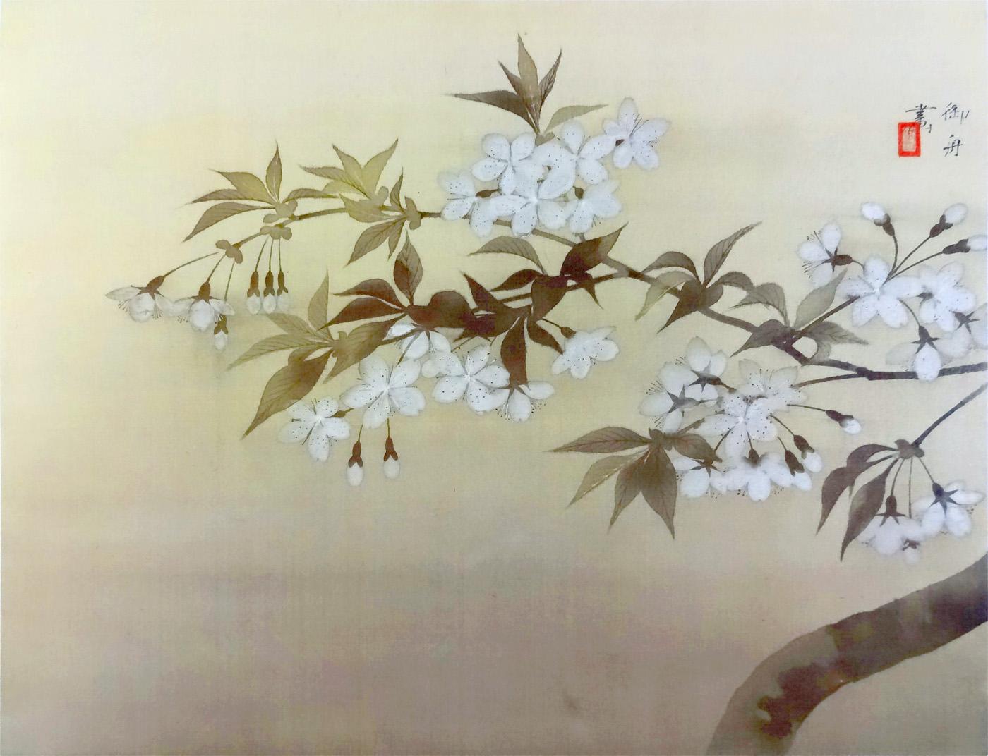 速水御舟:夜桜 : クラシック音楽とアート