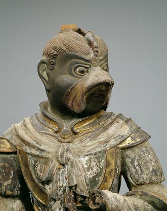 国宝 迦楼羅(かるら)立像 九州国立博物館